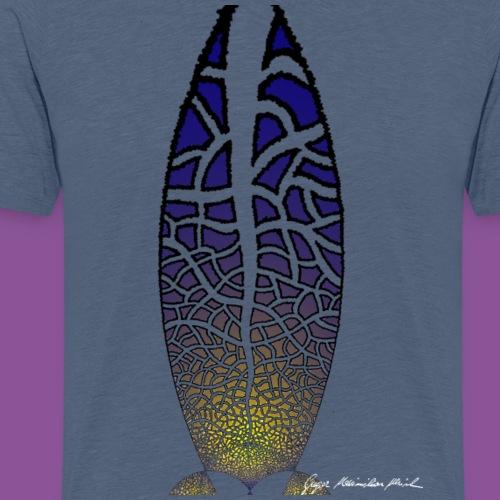 Karo mit Adern 30 1 - Männer Premium T-Shirt