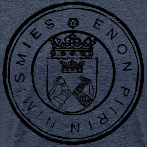 Enon piirin nimismies - Miesten premium t-paita