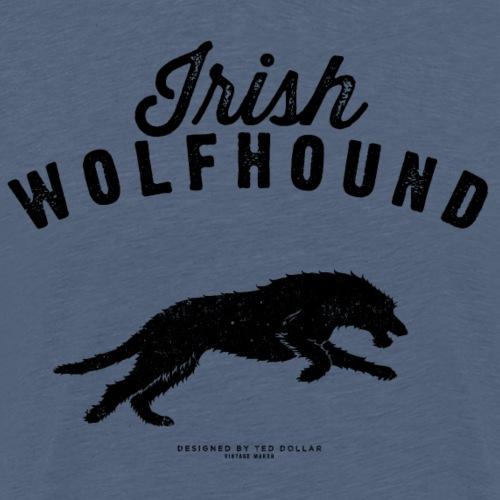 Black Irish Wolfhound - T-shirt Premium Homme