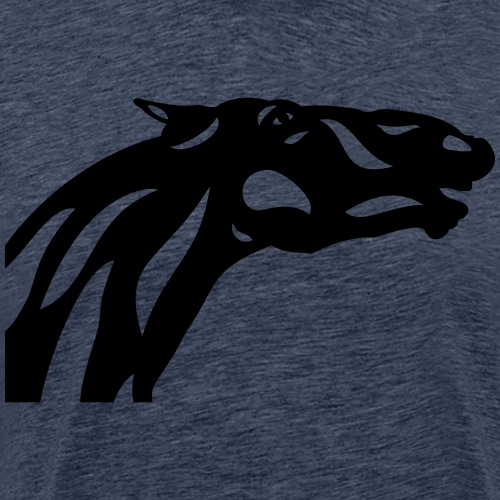 Abstraktes Pferd Fred - Männer Premium T-Shirt