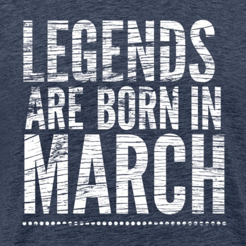 verjaardagsshirt design - Mannen Premium T-shirt