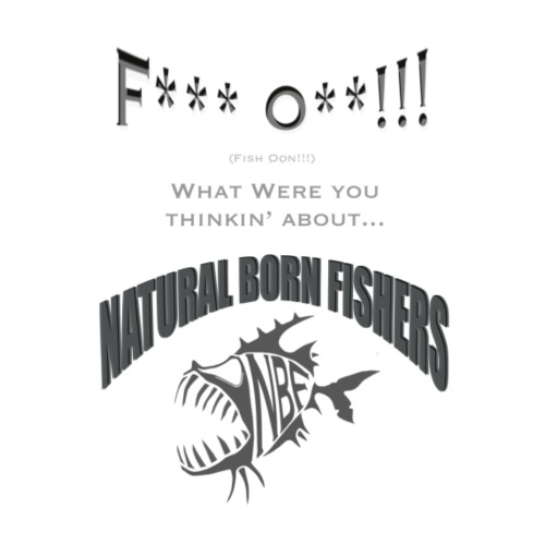 Fish Oon!!! - Miesten premium t-paita