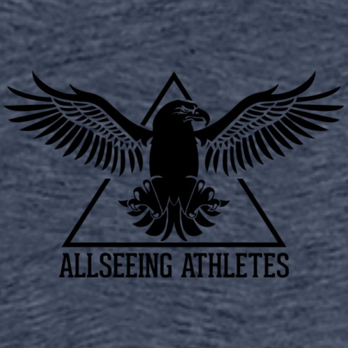 ALLSEEING ATHLETES - Premium T-skjorte for menn