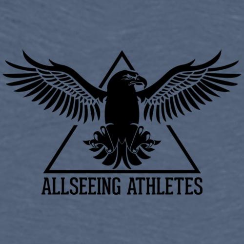 ALLSEEING ATHLETES - Premium T-skjorte for menn