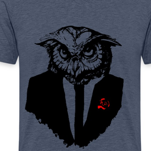 hibou costard.png - T-shirt Premium Homme