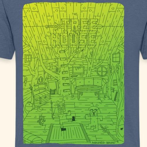 Tree house - T-shirt Premium Homme
