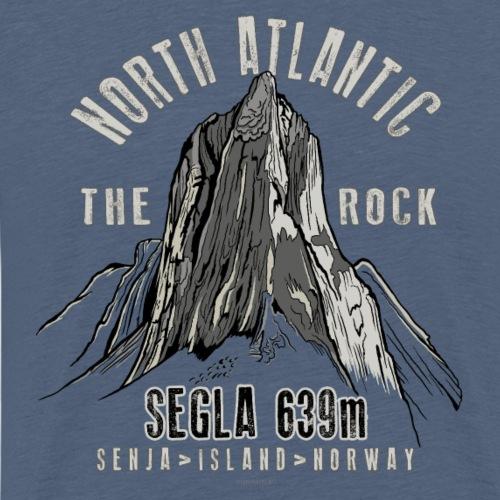 Segla Mountain North Norge Textiles, and Gifts - Miesten premium t-paita