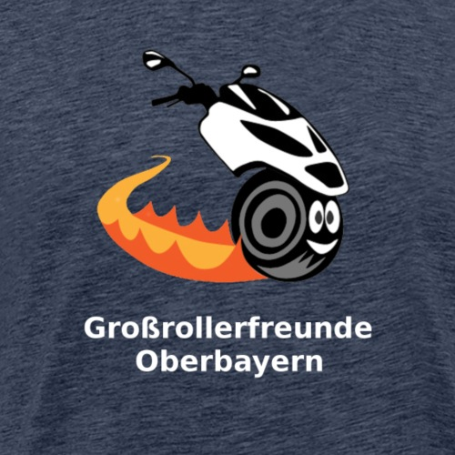 Großrollerfreunde Oberbayern - Männer Premium T-Shirt