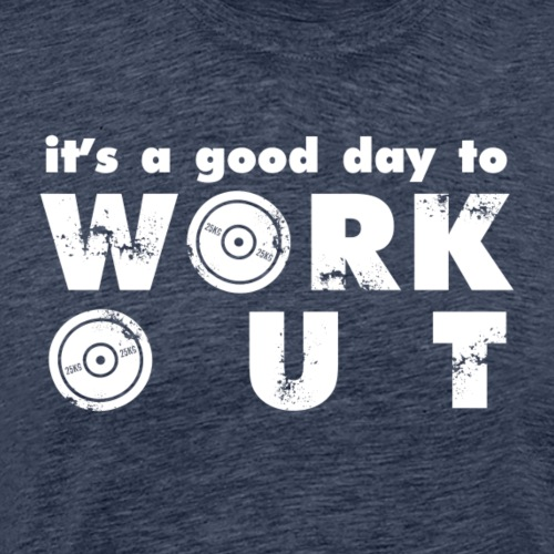 it's a good day to workout - Koszulka męska Premium