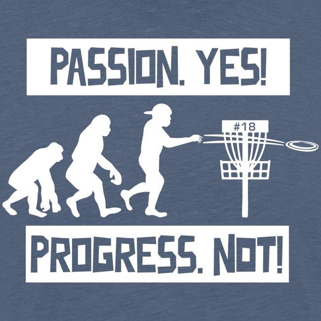 Disc golf - Passion, progress - White