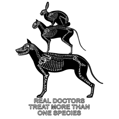 Echte artsen ... huisdieren - Mannen Premium T-shirt