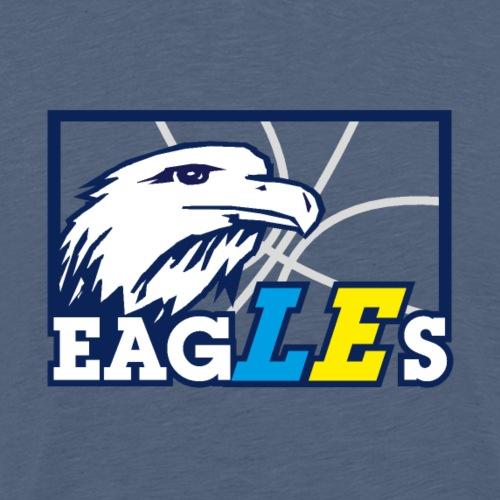 Eagles Logo original - Männer Premium T-Shirt