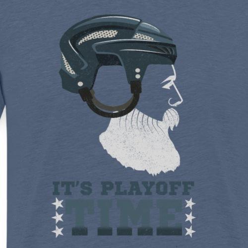 Lustiges Cooles Eishockey Geschenk Eishockeyspiele - Männer Premium T-Shirt