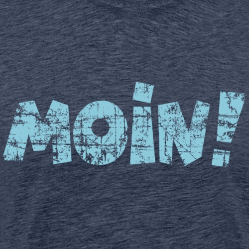 Moin! (Vintage Hell) Guten Morgen Gruß - Männer Premium T-Shirt