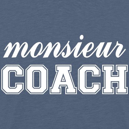 Monsieur Coach - Men's Premium T-Shirt