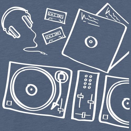 Analog Music - Männer Premium T-Shirt