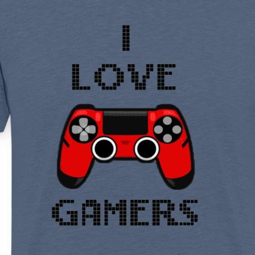 Love gamer - Maglietta Premium da uomo