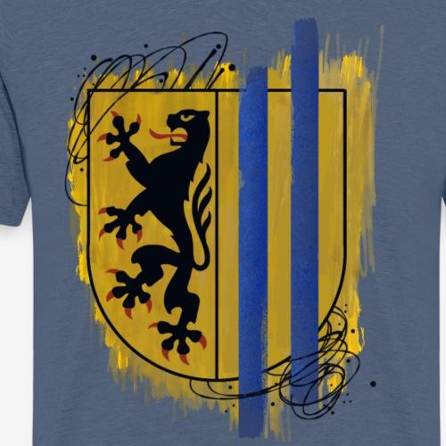 Leipzig Shield By TheRawburt - Premium-T-shirt herr