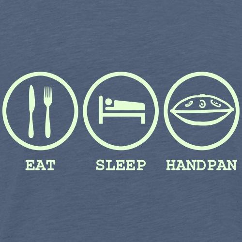 Eat Sleep Handpan 2 - Men's Premium T-Shirt