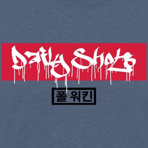 Daily Shots Tag art - Männer Premium T-Shirt