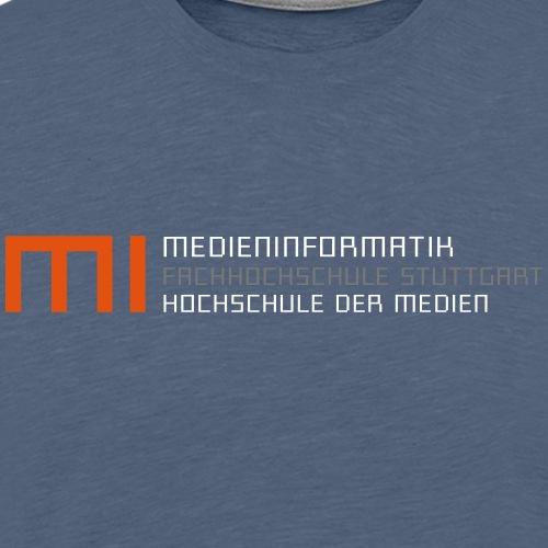 mi@hdm - Männer Premium T-Shirt