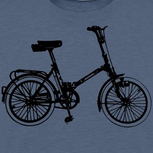 DDR Klapprad Klappfahrrad - Männer Premium T-Shirt
