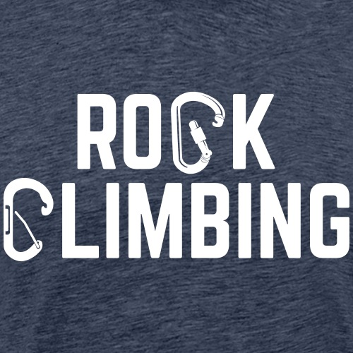 rock climbing carabiner - Men's Premium T-Shirt
