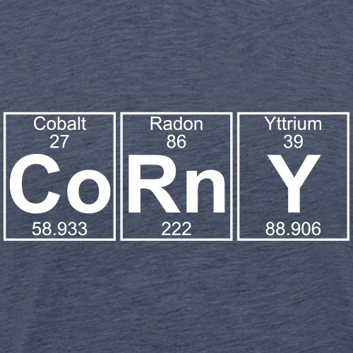 Co-Rn-Y (corny) - Full - Men's Premium T-Shirt