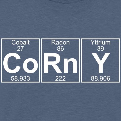 Co-Rn-Y (corny) - Full - Men's Premium T-Shirt