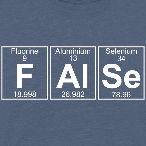 F-Al-Se (false) - Full - Men's Premium T-Shirt