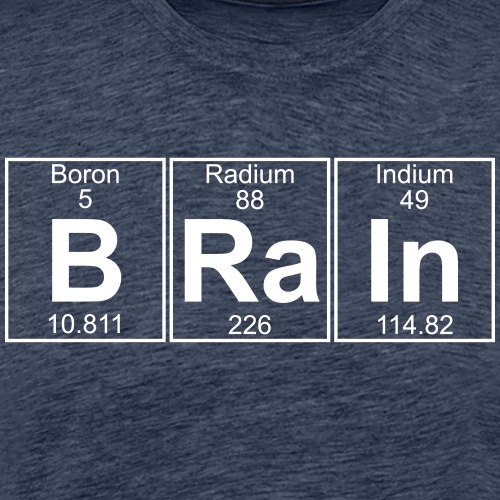 B-Ra-In (brain) - Full - Men's Premium T-Shirt