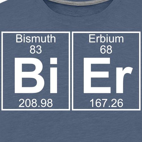 Bi-Er (bier) - Men's Premium T-Shirt