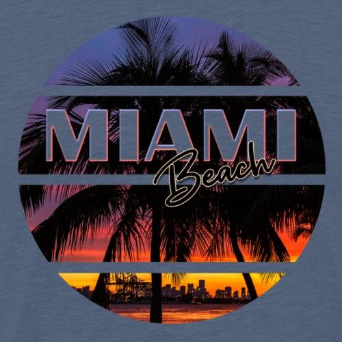 Miami Beach Sommer Feeling - Männer Premium T-Shirt