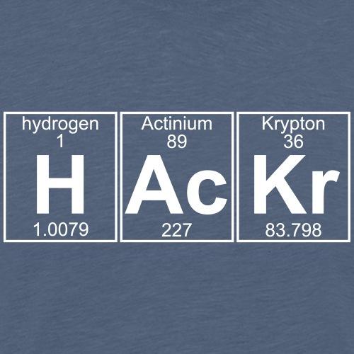 H-Ac-Kr (hackr) - Full - Men's Premium T-Shirt