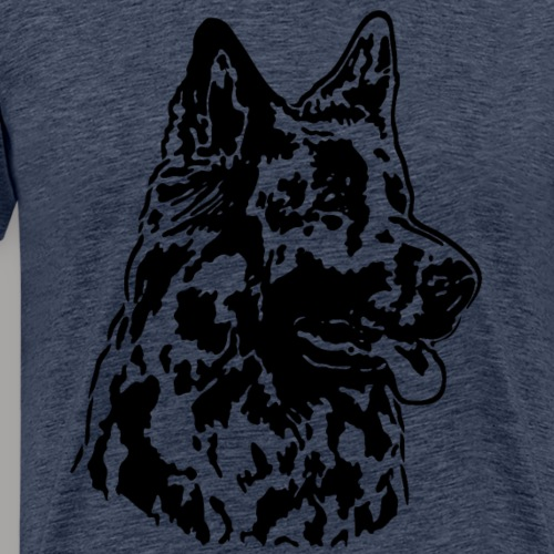 Altdeutscher Schaeferhund (Kopf dunkel)