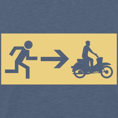Notausgang Simson Schwalbe - Männer Premium T-Shirt