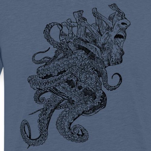 Tentakelschrei - Männer Premium T-Shirt
