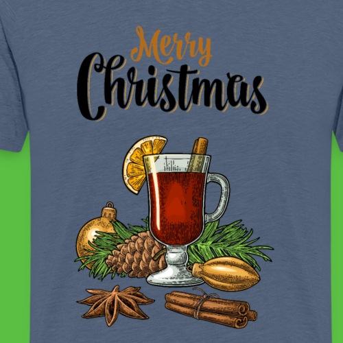 Merry Christmas , Glühwein - Männer Premium T-Shirt
