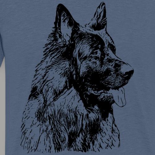 Altdeutscher Schäferhund (Kopf dunkel)