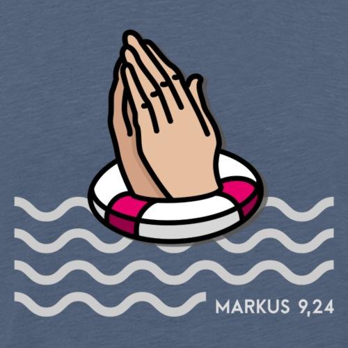 Jahreslosung 2020 Motiv Rettungsring - Männer Premium T-Shirt
