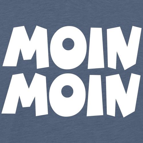 Moin Moin - Guten Morgen - Guten Tag - Männer Premium T-Shirt