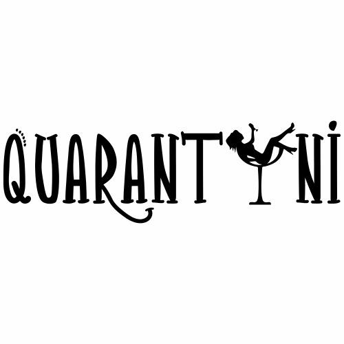 quarantini - Mannen Premium T-shirt