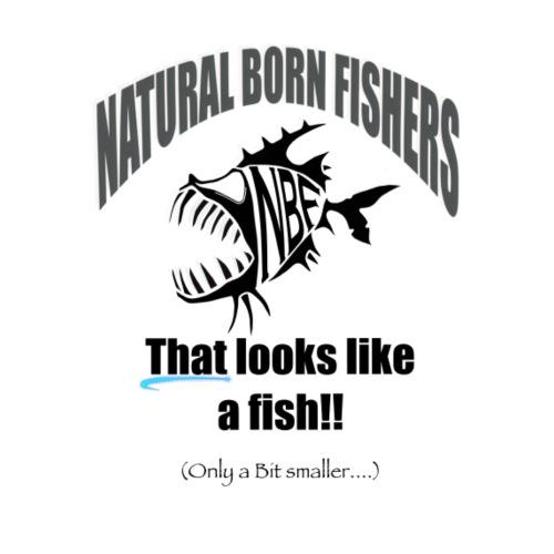 Like a fish but smaller - Miesten premium t-paita