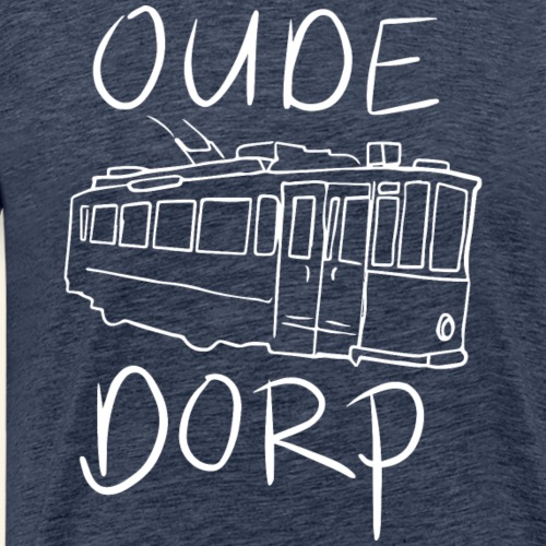 Oude Dorp Amstelveen - Mannen Premium T-shirt
