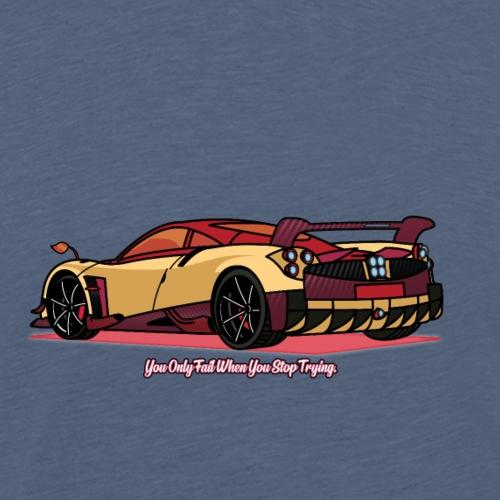 Pagani Huayra BC. - Men's Premium T-Shirt