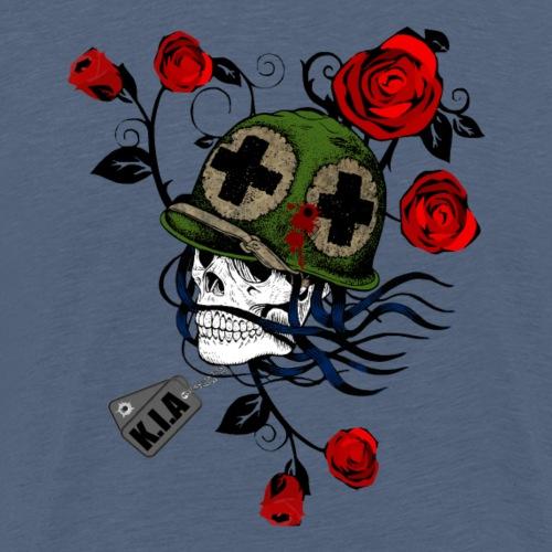 Ghost und der Krieg - Männer Premium T-Shirt