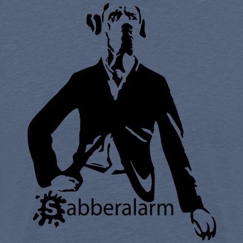 Sabberalarm - Hund - bis 2 Farben - Männer Premium T-Shirt