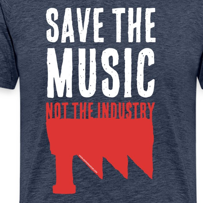 Save the Music white