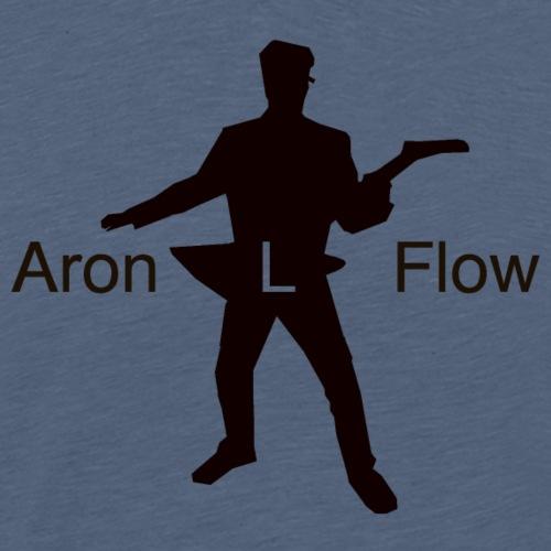 Logo mit Schrift black - Männer Premium T-Shirt