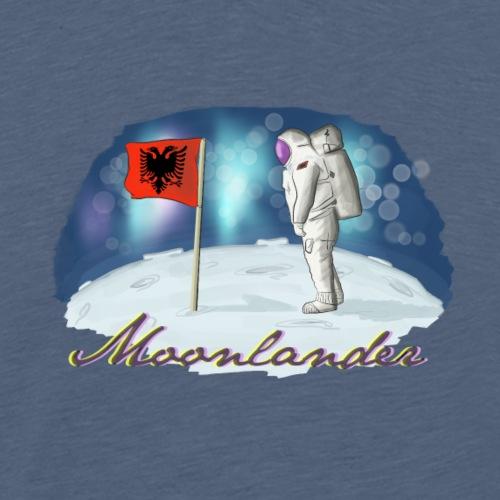 Shqiptari i parë në Hanë - Männer Premium T-Shirt